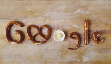 Imagen de Qué es el pretzel, homenajeando este sábado por Google