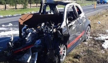 Imagen de Un muerto tras un accidente de tránsito en la Ruta 2