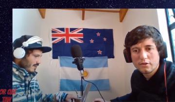 Imagen de Los dolorenses que hace radio desde Nueva Zelanda