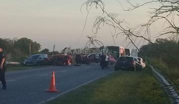 Imagen de Tres muertos en un choque en Santa Fe