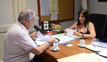 Imagen de Rodríguez Ponte formalizó el pedido de obras prioritarias para General Lavalle