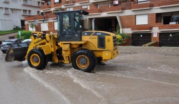 Imagen de El temporal en la región dejó inundadas varias zonas de Pinamar y Villa Gesell