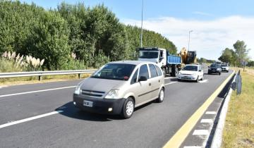 Imagen de Es intenso el tránsito en las diferentes rutas de la región
