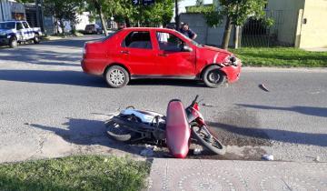 Imagen de Una mujer y dos menores con heridas tras un accidente de tránsito en Dolores