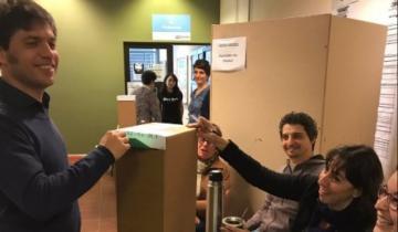"""Imagen de Elecciones 2019 en vivo: Votó Kicillof y pidió que """"nadie se vaya a dormir pensando que pasó una cosa cuando pasó otra"""""""