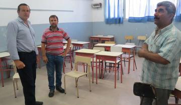 Imagen de Cuáles son las mejoras que se están realizando en la Escuela N° 4 de Dolores