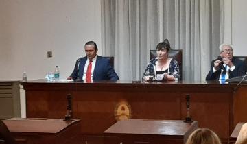 Imagen de Dolores: Con un discurso escueto, Etchevarren abrió el período de sesiones ordinarias del Concejo Deliberante