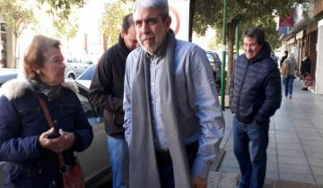 Imagen de Aníbal Fernández se presentó en el Juzgado de Dolores