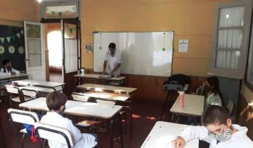 Imagen de Dolores: cómo se vivió el primer mes de clases presenciales en las escuelas