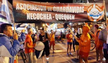 Imagen de Los guardavidas de Necochea y Quequén paran por tiempo indeterminado desde mañana