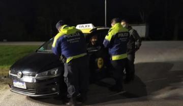 Imagen de Iban de Chaco a Mar del Plata, en taxi y sin permiso: los detuvieron en la Ruta 2
