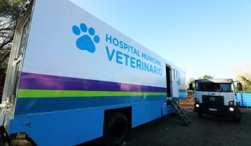 Imagen de Las Toninas recibe al Hospital Móvil Veterinario desde el próximo lunes 25