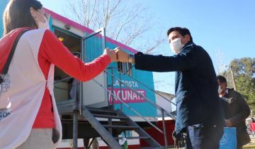 Imagen de Coronavirus: el vacunatorio móvil del Partido de La Costa llega hoy a Costa Azul