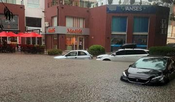 Imagen de Cómo está Pinamar tras el fuerte temporal