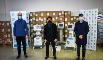 Imagen de Coronavirus: la Provincia entregó respiradores a 5 municipios de la Región