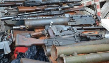 Imagen de Inédito: secuestran más de mil armas tras allanamientos en todo el país