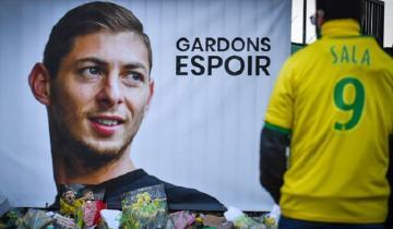 Imagen de El mundo del fútbol pide que continúe la búsqueda de Emiliano Sala