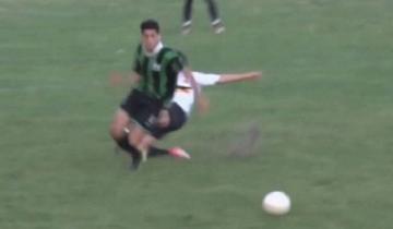 Imagen de Piñas, lesiones, bombas de estruendo y un jugador detenido en el clásico de Pinamar