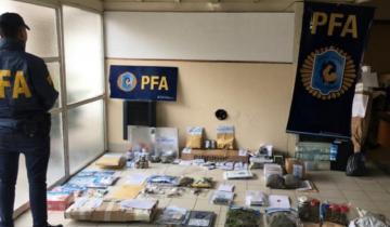 Imagen de Desbaratan banda narco en Mar del Plata: tenían más de 9 mil dosis de marihuana y cocaína