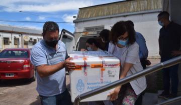 Imagen de Llegaron nuevas vacunas a Olavarría y se establecieron nuevos controles en los freezers de almacenamiento