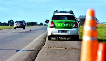 Imagen de Ruta 226: un hombre murió al despistarse y volcar con su camioneta