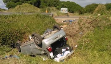 Imagen de Un hombre se mató en un accidente en la Ruta 11