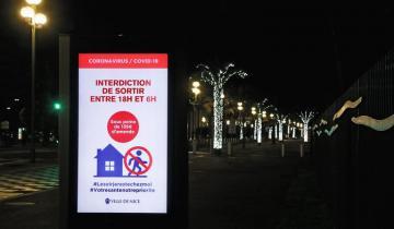 Imagen de Coronavirus en el mundo: Francia anunció que el toque de queda comenzará a las 6 PM
