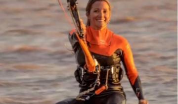 Imagen de Kitesurf: continúa la búsqueda de Victoria, a casi un mes de su desaparición en Punta Rasa