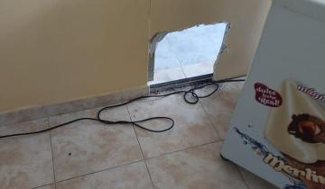 Imagen de Dolores: delincuentes hicieron un boquete y robaron en dos comercios linderos