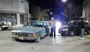 Imagen de Dos autos protagonizaron un fuerte accidente en Dolores