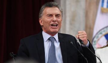"""Imagen de Macri volvió a retar a los argentinos: """"Hay que poner el hombro sin llorarla"""""""