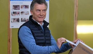 """Imagen de Elecciones 2019 en vivo: Votó Macri y dijo que """"en esta elección se definen los próximos 30 años de historia"""""""