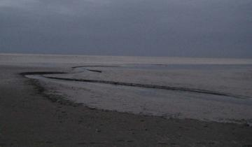 Imagen de Alerta amarillo por lluvia y fuertes vientos para la Costa Atlántica