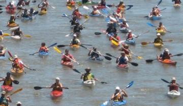 Imagen de El encuentro de kayakistas que une Dolores con San Clemente cumple 20 años