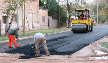 Imagen de Castelli consiguió un presupuesto de 50 millones de pesos para asfalto
