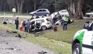 Imagen de Otro grave choque frontal en la Ruta 3: un camión y un auto involucrados