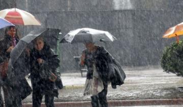 Imagen de Se aproximan lluvias, tormentas y vientos con ráfagas en la región