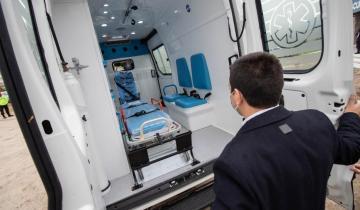 Imagen de El Partido de La Costa incorporó otra ambulancia