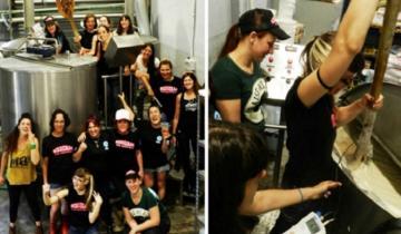 Imagen de Presentación en Mar del Plata: llega Azurduy, la primera cerveza feminista
