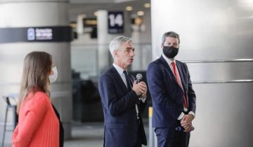 Imagen de El ministro de Transporte anunció el retorno de vuelos, trenes y colectivos