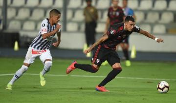 Imagen de River inició la defensa del título de la Libertadores con un agónico empate ante Alianza Lima