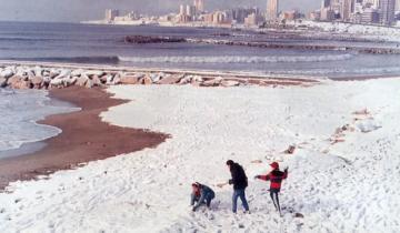 Imagen de Confirman el pronóstico de nevadas para jueves y viernes en Mar del Plata
