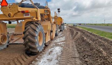 Imagen de Oficial: las obras en el Corredor del Atlántico tienen un 31% de avance, a 14 meses de su inauguración