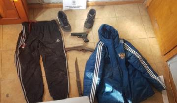 Imagen de Armas secuestradas y detenidos en dos allanamientos
