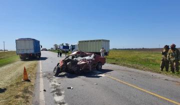 Imagen de Murió un joven al chocar contra un camión en la Ruta 226