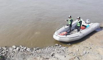 Imagen de Búsqueda de pescadores: encontraron un cuerpo en el Rio Salado