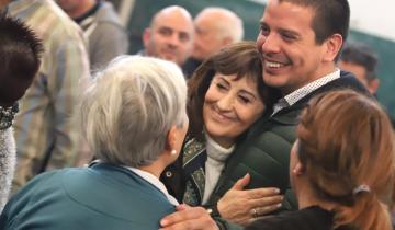 """Imagen de Mirta Tundis elogió a Cardozo: """"Tiene compromiso con los adultos mayores"""""""