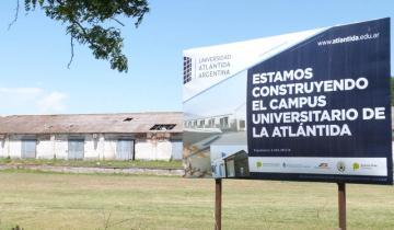 Imagen de La Universidad Atlántida construye su sede dolorense en los galpones del ferrocarril