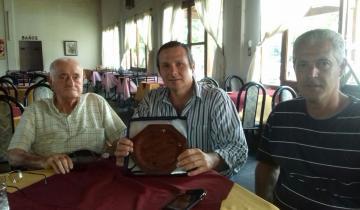 Imagen de Reconocimiento a Plácido Iglesias en su parrilla de Dolores