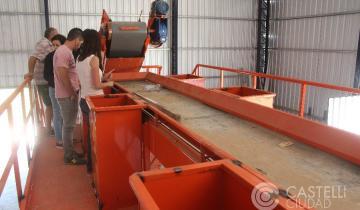 Imagen de Avances en Castelli en la planta de residuos sólidos urbanos